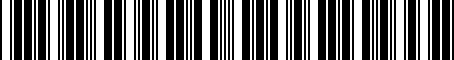 Barcode for 1K1064205A