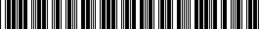 Barcode for 3C8071685GRU