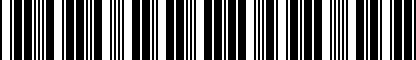 Barcode for DRG003834