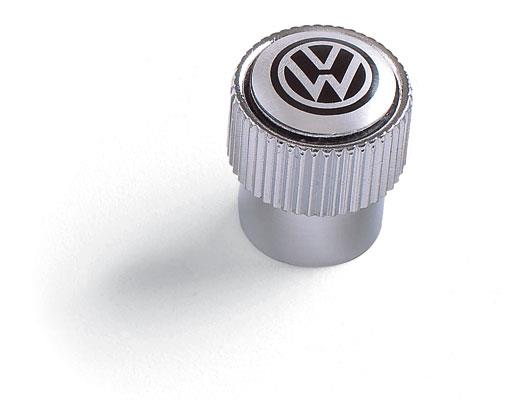 Diagram Valve Stem Caps - Black on Silver (ZVW355005A) for your 2016 Volkswagen CC
